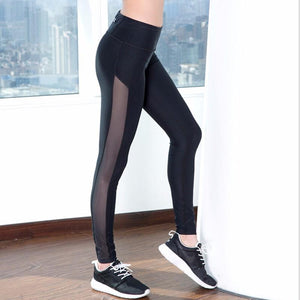 Mesh Tracked Leggings