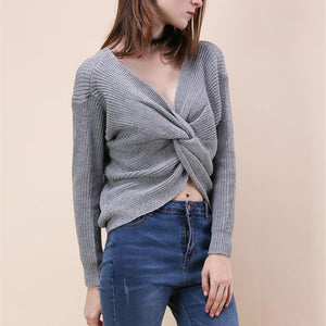 Knot Knitted Sweater