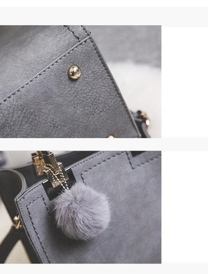 Cute Faux Leather Bag