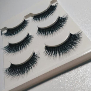 Glam Volume Sexy False Eyelashes 3 Pair Set