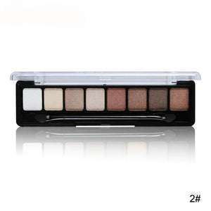 8 Color Eye Shadow Palette