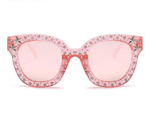 Cat Eye Star Glasses