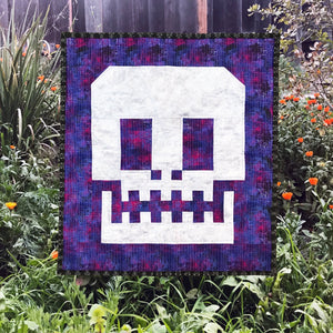 Behind the Seams: Tula Pink Sugar Skull Mini Quilt