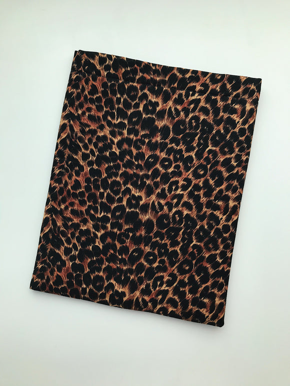 Leopard Book Sleeve