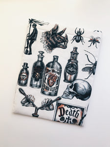 Halloween Bottles Book Sleeve