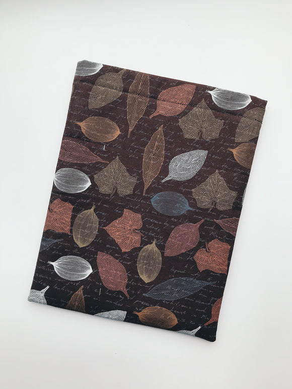 Fall Leaves Book Sleeve