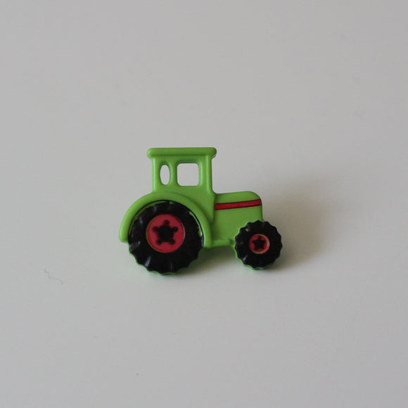Green Tractor Buttons