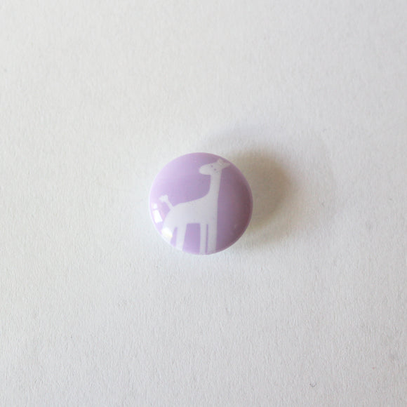 Purple Giraffe Buttons