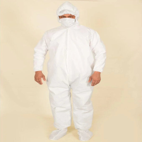 40 GSM Disposable Non Woven Coverall-Protection Suit