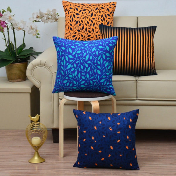 Digital Printed Satin Cushions Assorted 4PCs-Gradients