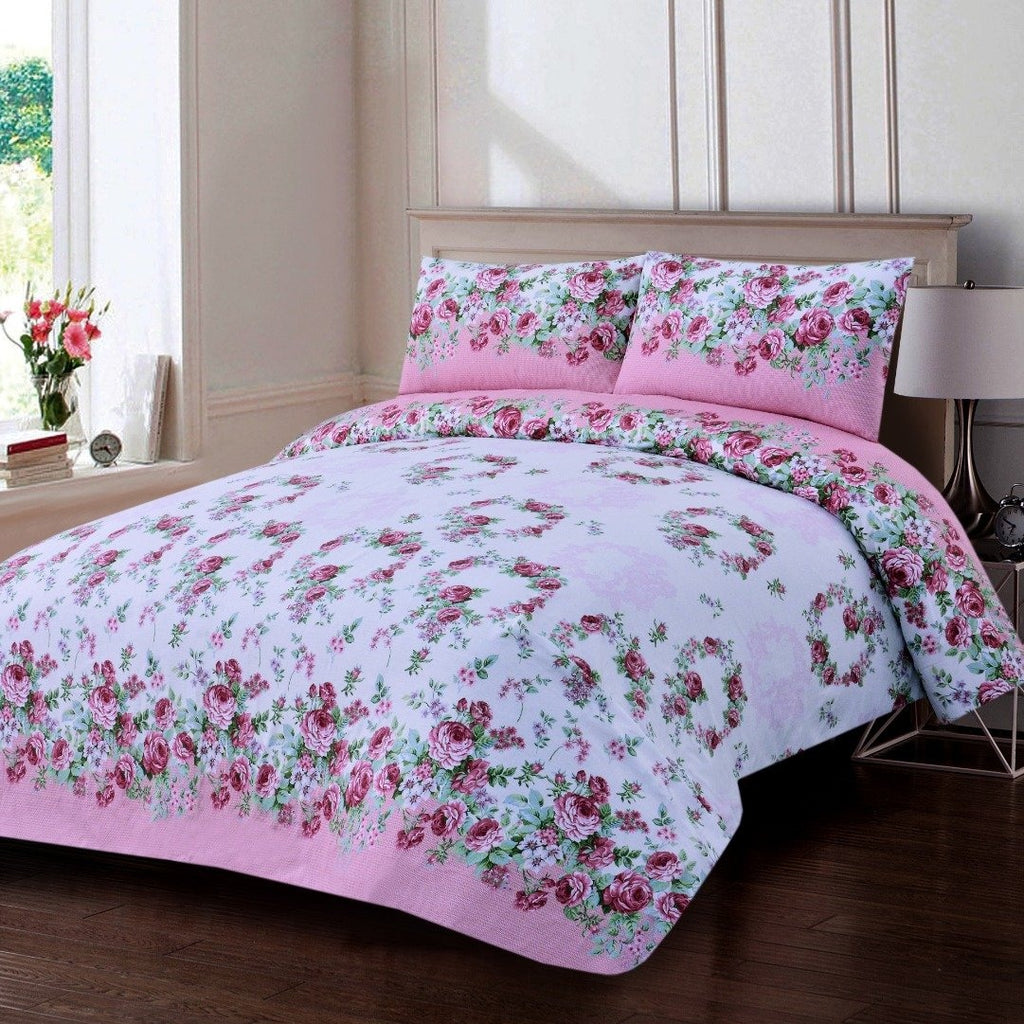 3 PCs Bed Sheet (1056)-AP0056
