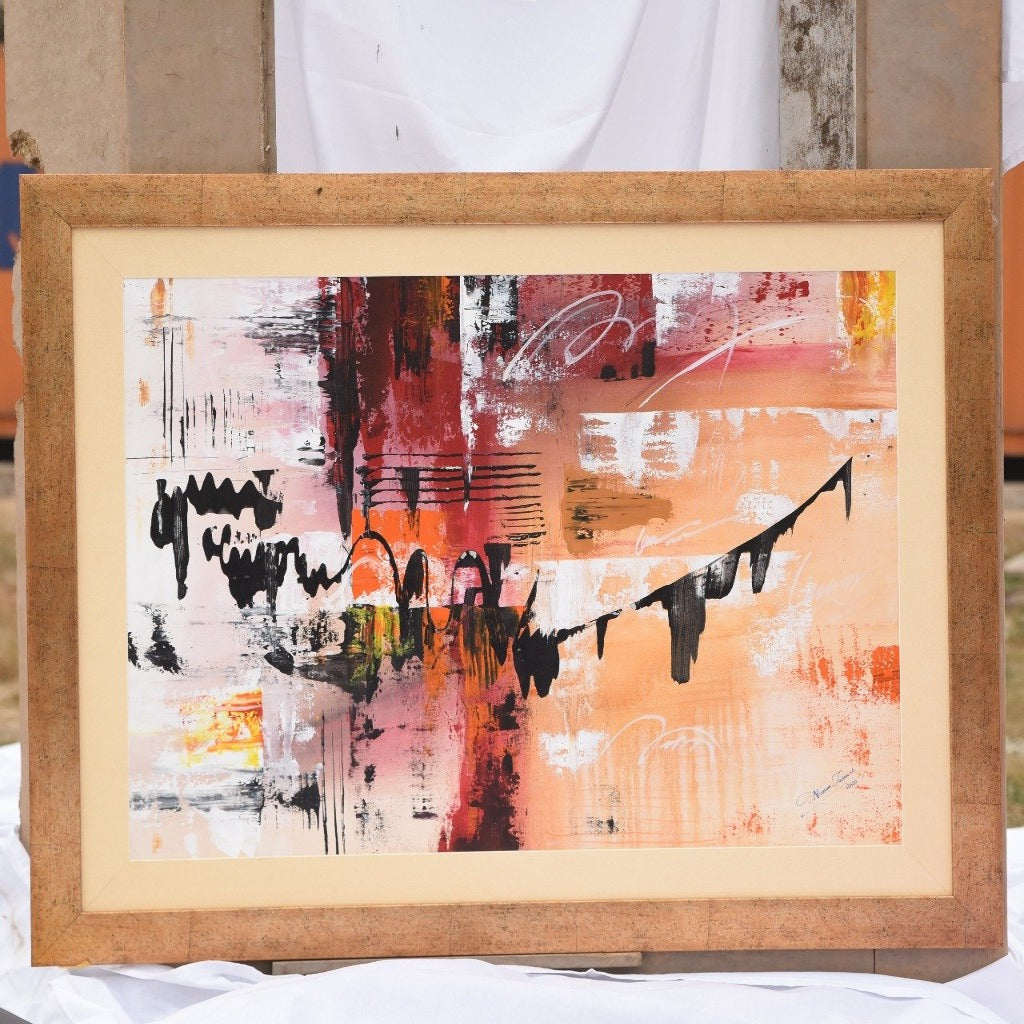 Handmade Abstract Art Painting-Abstract Art