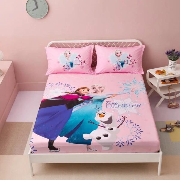 Digital Printed Junior Single Bed Sheet (3900)- True Friends