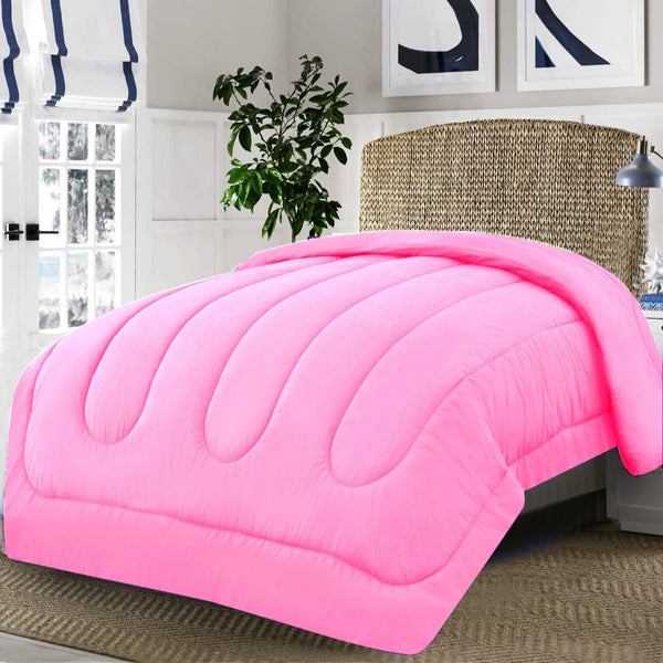 Dyed Double Winter Comforter -Pink