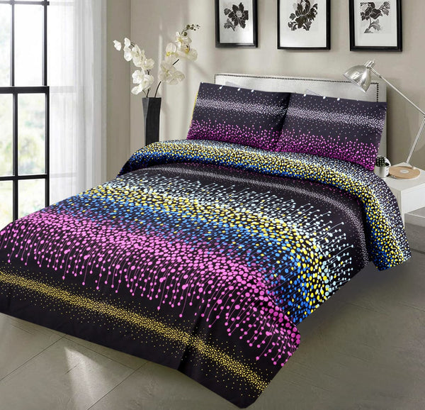 6 PCs Micro Satin Quilt Cover Set-ST001
