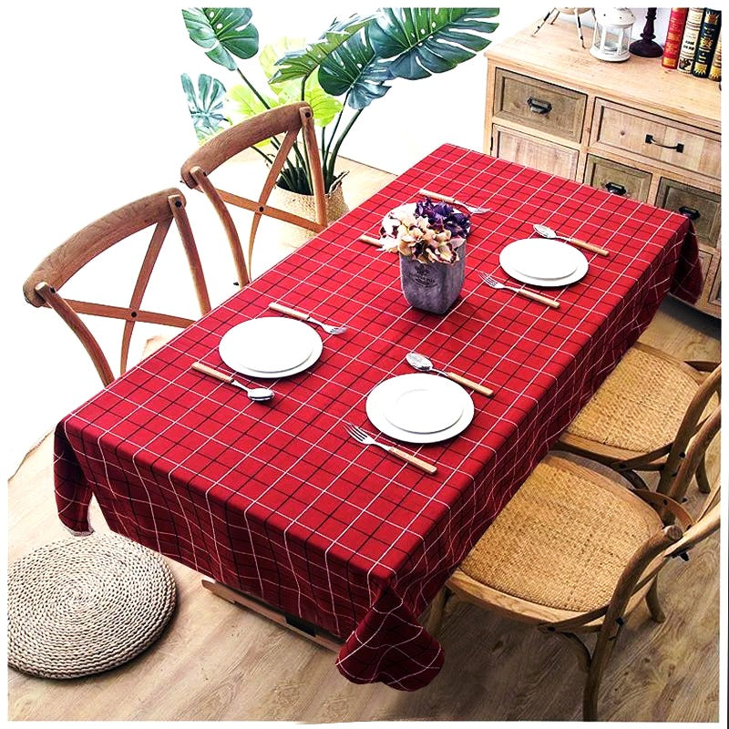6 & 8 Seater Digital Printed Table Cover -TB08