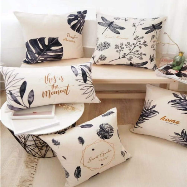 Garden Digital Printed Cushions AssortedSA10-49-Pack Of 5