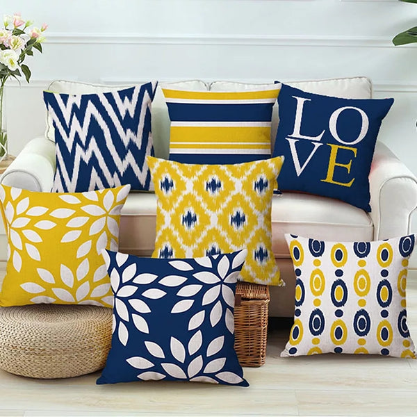 SA10-50 Digital Printed Cushions Assorted- Pack Of 6