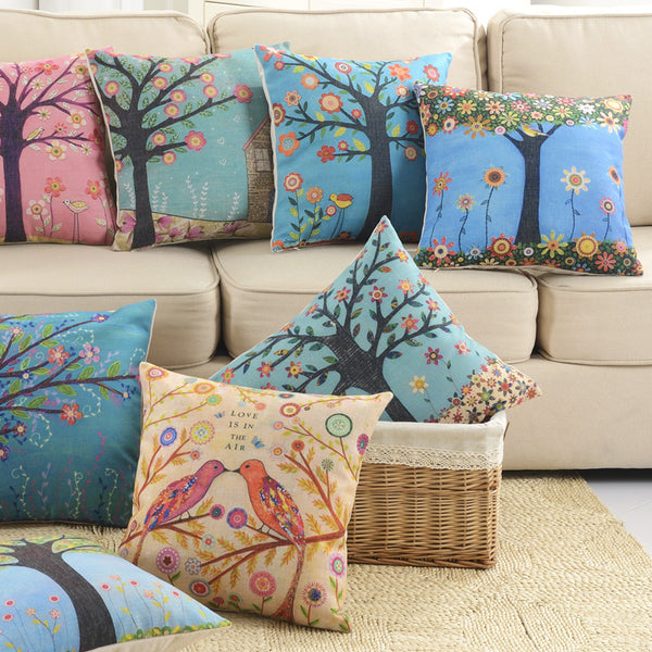 SA10-54 Digital Printed Cushions Assorted- Pack Of 8