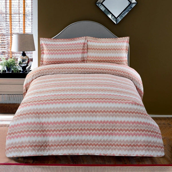 3 PCS BED SPREAD(3374)- Multi Waves
