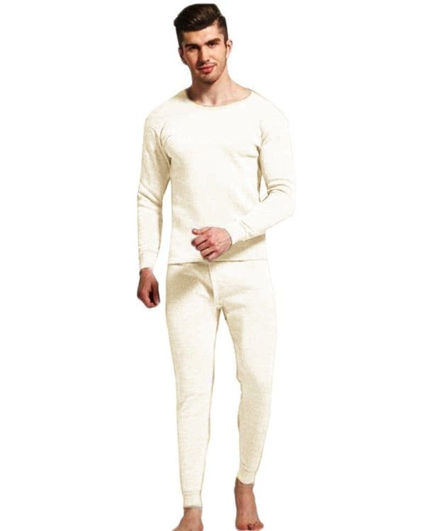 Thermal Suit -Men Off White