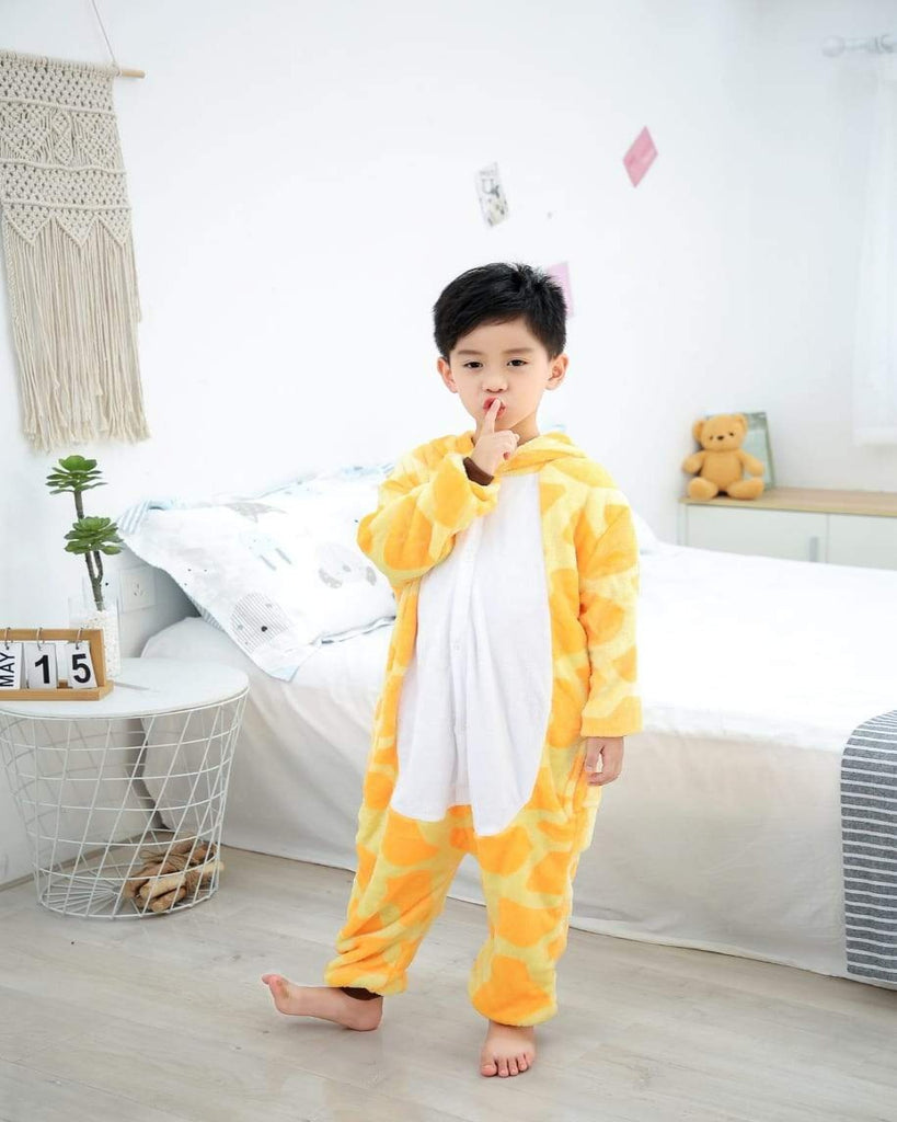 SA-25 Kids Plush Hooded Fleece-Sleep Wears