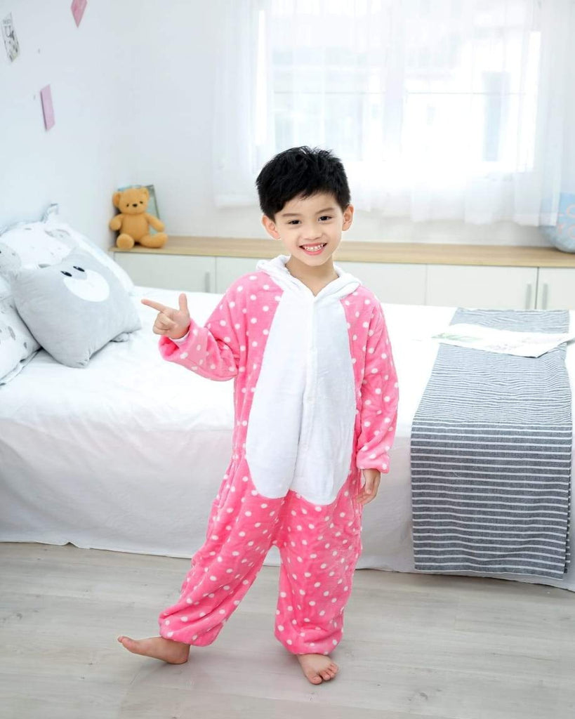 SA-23 Kids Plush Hooded Fleece-Sleep Wears