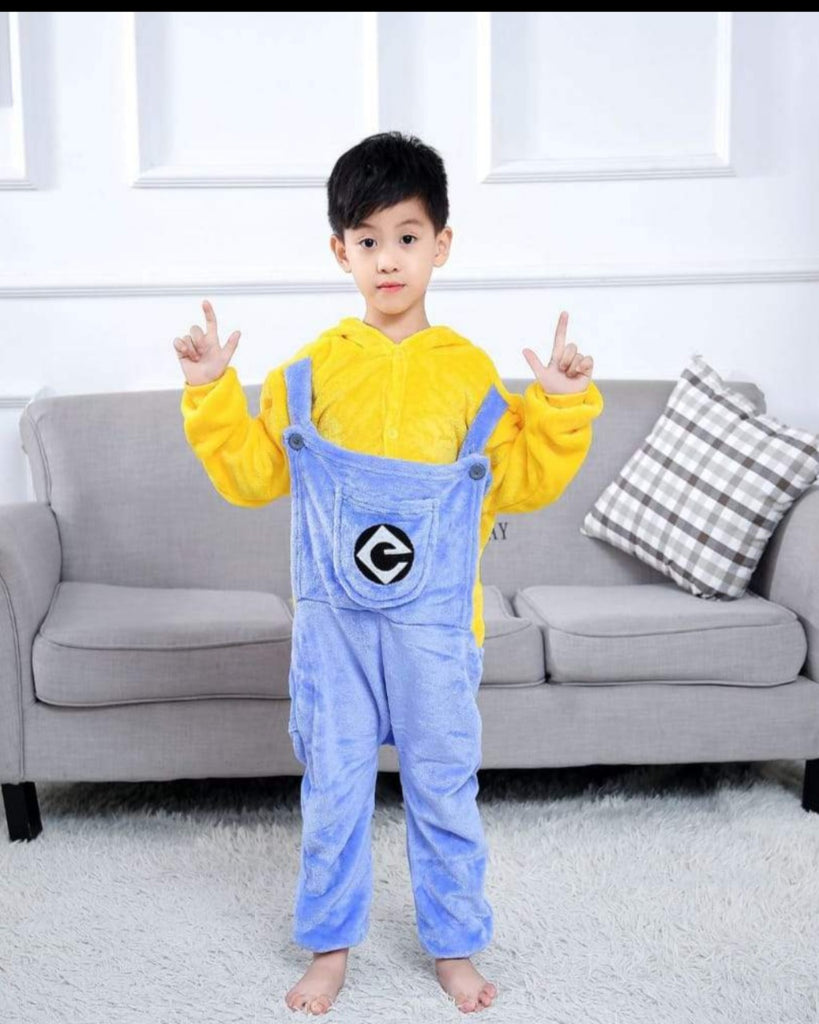 SA-26 Kids Plush Hooded Fleece-Sleep Wears