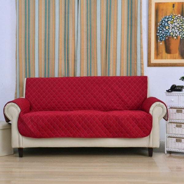 SOFA COVER- MEROON