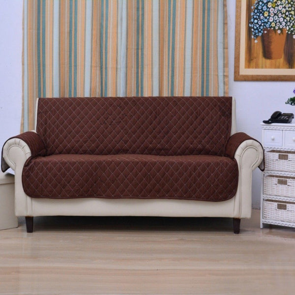 SOFA COVER- CHOCOLATE BROWN