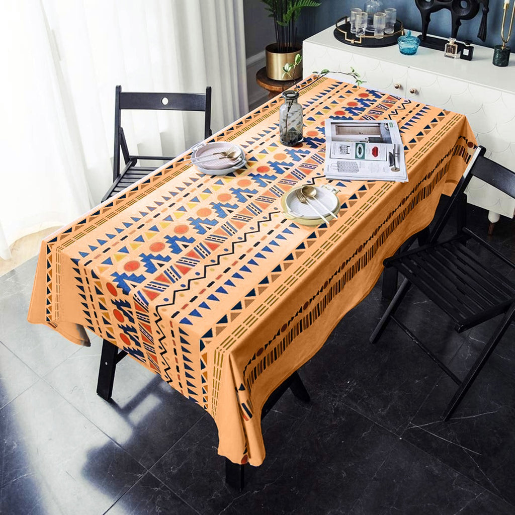 6 & 8 Seater Digital Printed Table Cover-TB24