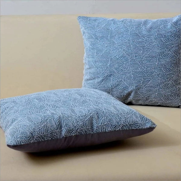 Embossed Cushion Micro Work (2699) - Pack Of 2