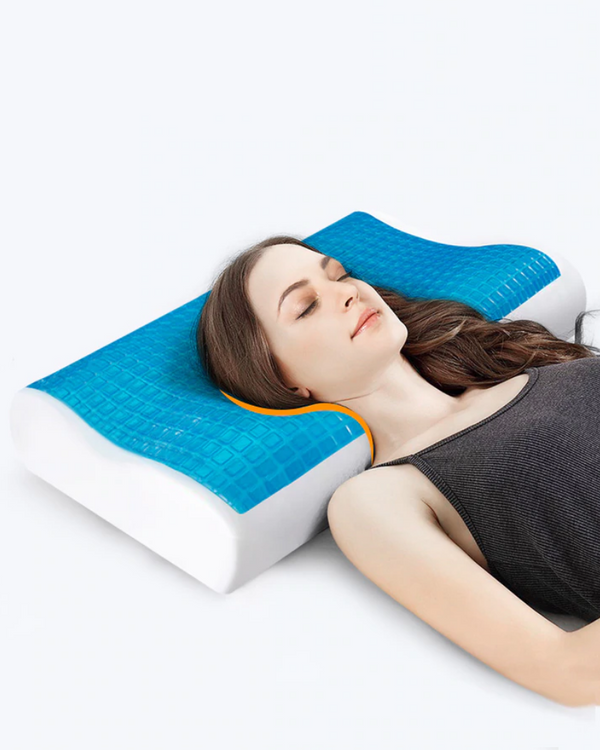 Orthopedic Cool Memory Gel Foam Pillow Curvy(1955)