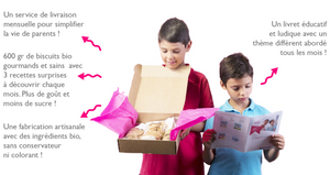 biscuit enfants bio box gouter sain et gourmand happy box celinou education nutrition infantile