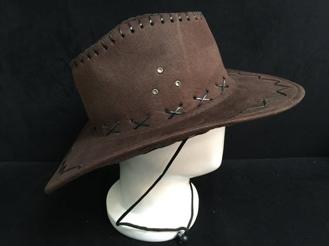 West America Police Brown Cap Hat