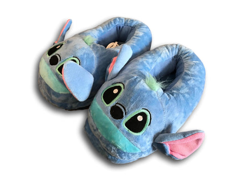 USB Warmer Lilo & Stitch Cuite Cosplay Adult Plush Rave Shoes Doll Slippers 10""