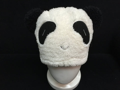 Cute Kawaii Anime Animal Hat Rave Beanie Cap Furry Plush Cosplay Panda 5
