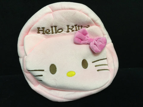 Saniro Hello Kitty Furry Plush HandBag Backpack Bag School Bag Travel Bag