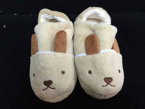 Brown Rabbit Cute Kawaii Cosplay Adult Plush Rave Shoes Slippers