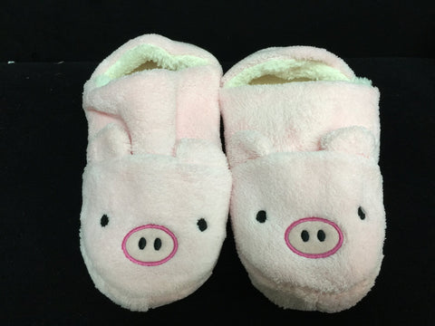 Pink Pig Cute Kawaii Cosplay Adult Plush Rave Shoes Slippers