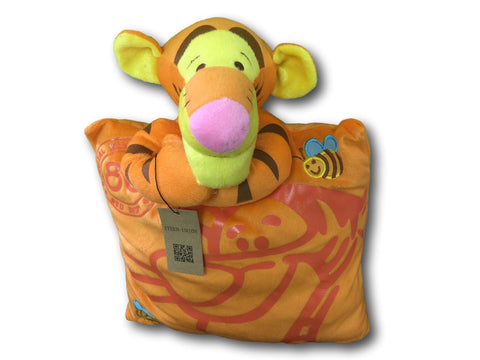 Winnie The Pooh Cute Anime Beanie Furry Plush Cosplay Cushion Tiger