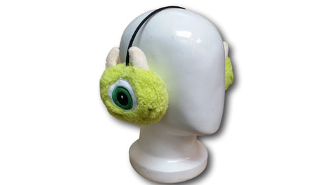 Cute Monster University Mike Wazowski Unisex Soft Plush Warm Cosplay Earmuff