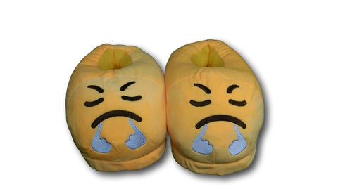 Triumph Unisex Emoji Plush Home Indoor Pair Slippers Soft Comfy Shoes