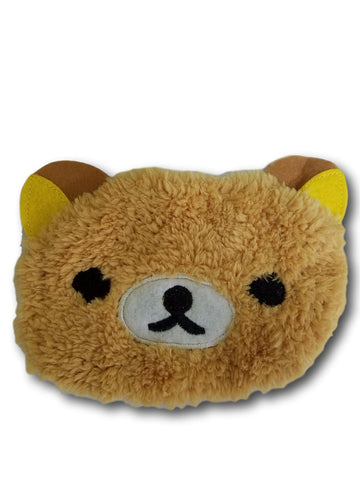 Cute Kawaii Winter Warm Face Mask Anime Animal Soft Plush Brown Rilakkuma Half Face MaskT2