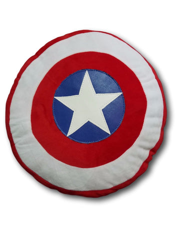 Marval Averange Captain American Shield Soft Plush Home Pillows Cushion 38cm