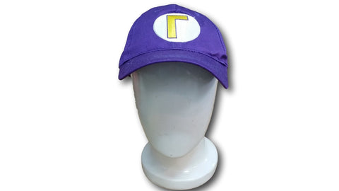 Super Mario Bros Cap Cute Kawaii Hat Rave Beanie Cap Cosplay Purple