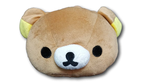 San X Rilakkuma Cute Big Bag Handbag Shoulder Bag Plush Relax Brown Bear