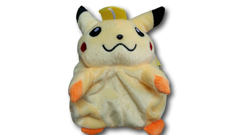 PIKACHU PLUSH BACKPACK LARGE STUFFED DOLL TOY BAG FIGURE POKEMON NEW