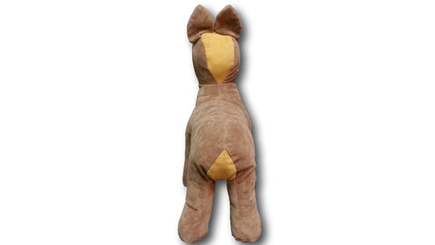 Newest and Modern Plush Brown Dog Model Torsos Mannequins