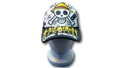 Japanese Anime One Piece Monkey-D-Luffy skull mark Baseball Cap Cosplay Hat